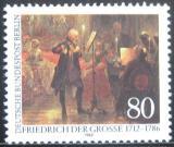 Poštovní známka Západní Berlín 1986 Umění, Adolph von Menzel Mi# 764