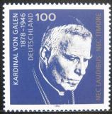 Poštovní známka Německo 1996 Kardinál August von Galen Mi# 1848