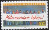 Poštovní známka Německo 1994 Cizinci v Německu Mi# 1725