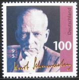 Poštovní známka Německo 1995 Kurt Schumacher, politik Mi# 1824