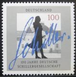 Poštovní známka Německo 1995 Schillerova společnost Mi# 1792