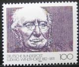 Poštovní známka Německo 1991 Ludwig Windthorst, politik Mi# 1510