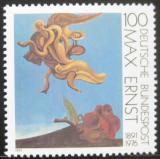 Poštovní známka Německo 1991 Ptáčí monument, Max Ernst Mi# 1569