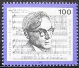 Poštovní známka Německo 1992 Hugo Distler, skladatel Mi# 1637