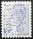 Poštovní známka Německo 1992 Werner Bergergruen, spisovatel Mi# 1629