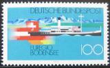 Poštovní známka Německo 1993 Jezero Constance Mi# 1678