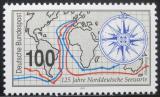Poštovní známka Německo 1993 Námořní observatoř Mi# 1647