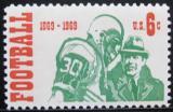 Poštovní známka USA 1969 Americký fotbal Mi# 993