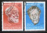 Poštovní známky Švýcarsko 1985 Evropa CEPT Mi# 1294-95