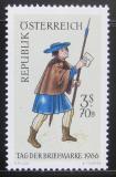 Poštovní známka Rakousko 1966 Poštovní posel Mi# 1229