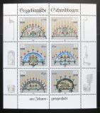 Poštovní známky DDR 1986 Krušnohorské lustry Mi# 3057-62