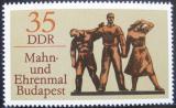 Poštovní známka DDR 1976 Monument v Budapešti Mi# 2169