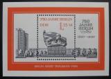 Poštovní známka DDR 1987 Thalmannův memoriál Mi# 3105 Mi# Block 89