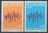 Poštovní známky San Marino 1972 Evropa CEPT Mi# 997-98