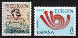 Poštovní známky Španělsko 1973 Evropa CEPT Mi# 2020-21
