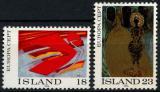 Poštovní známky Island 1975 Evropa CEPT Mi# 502-03