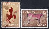 Poštovní známky Španělsko 1975 Evropa CEPT Mi# 2151-52