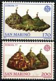 Poštovní známky San Marino 1977 Evropa CEPT Mi# 1131-32