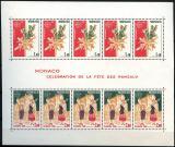 Poštovní známky Monako 1981 Evropa CEPT Mi# Block 17