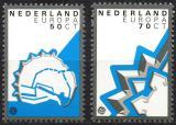 Poštovní známky Nizozemí 1982 Evropa CEPT Mi# 1219-20