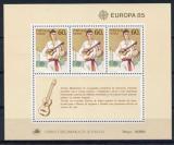 Poštovní známky Madeira 1985 Evropa CEPT Mi# Block 6