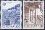 Poštovní známky Faerské ostrovy 1987 Evropa CEPT Mi# 149-50