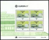 Poštovní známky Madeira 1987 Evropa CEPT Mi# Block 8