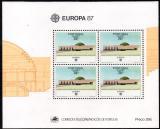 Poštovní známky Azory 1987 Evropa CEPT Mi# Block 8