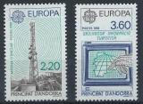 Poštovní známky Andorra Fr. 1988 Evropa CEPT Mi# 390-91