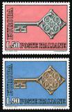 Poštovní známky Itálie 1968 Evropa CEPT Mi# 1272-73