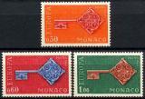 Poštovní známky Monako 1968 Evropa CEPT Mi# 879-81