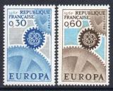 Poštovní známky Francie 1967 Evropa CEPT Mi# 1578-79