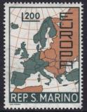 Poštovní známka San Marino 1967 Evropa CEPT Mi# 890