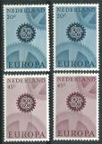 Poštovní známky Nizozemí 1967 Evropa CEPT Mi# 878-79 x,y