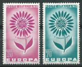 Poštovní známky Itálie 1964 Evropa CEPT Mi# 1164-65
