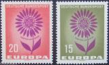 Poštovní známky Německo 1964 Evropa CEPT Mi# 445-46