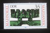 Poštovní známka DDR 1980 Memoriál Maidenek Mi# 2538
