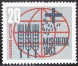 Poštovní známka Německo 1963 Katolický Misereor Mi# 391