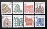 Poštovní známky Německo 1964-65 Budovy z 12. stol. Mi# 454-61