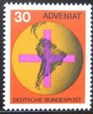 Poštovní známka Německo 1967 Jižní Amerika Mi# 545