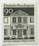 Poštovní známka Německo 1966 Königsberg Mi# 499
