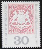 Poštovní známka Německo 1969 Bavorský znak Mi# 601