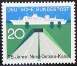 Poštovní známka Německo 1970 Baltský kanál Mi# 628