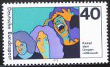 Poštovní známka Německo 1975 Boj proti drogám Mi# 864