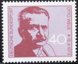 Poštovní známka Německo 1973 Otto Wels, politik Mi# 780