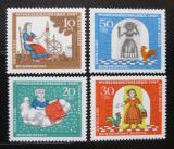 Poštovní známky Německo 1967 Pohádka Frau Holle Mi# 538-41