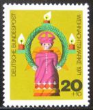 Poštovní známka Německo 1971 Vánoce Mi# 709