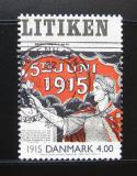 Poštovní známka Dánsko 2000 Noviny z roku 1915 Mi# 1248