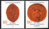 Poštovní známky Německo 1977 Univerzitní pečetě Mi# 938-39
