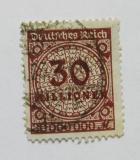 Poštovní známka Německo 1923 Nominální hodnota Mi# 320 Kat 12€